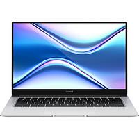 荣耀笔记本 MagicBook X 14 2021 14英寸全面屏轻薄笔记本电脑 (酷睿i3-10110U、8GB、256GB SSD)冰河银