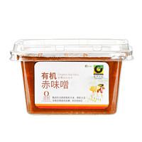 欣和 禾然有机赤味噌300g盒装  调味料 日式味增汤 日式调味酱 日式酱汤味增汤料 有机认证