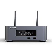 芝杜 ZIDOO Z10PRO硬盘蓝光播放机器4K UHD杜比视界HDR 3D网络盒子 Z10PRO+飞鼠遥控器 官方标配