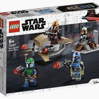 百亿补贴 : LEGO 乐高 星球大战系列 75267 曼达洛人战斗套装