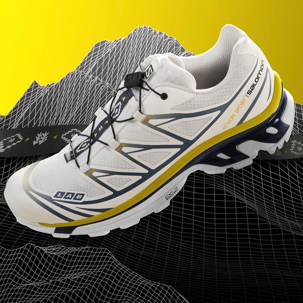 KOLON SPORT X SALOMON XT6款 户外运动潮鞋