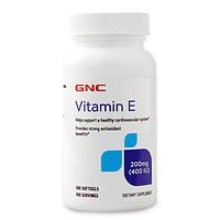 GNC/健安喜维生素E软胶囊100粒/瓶小麦正品美国自由基进口天然