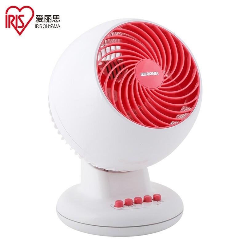 日本iris\/爱丽思PCF-C15TC电风扇家用 台式空气循环扇遥控式静音定时桌面风扇爱丽丝循环扇 PCF-M15C