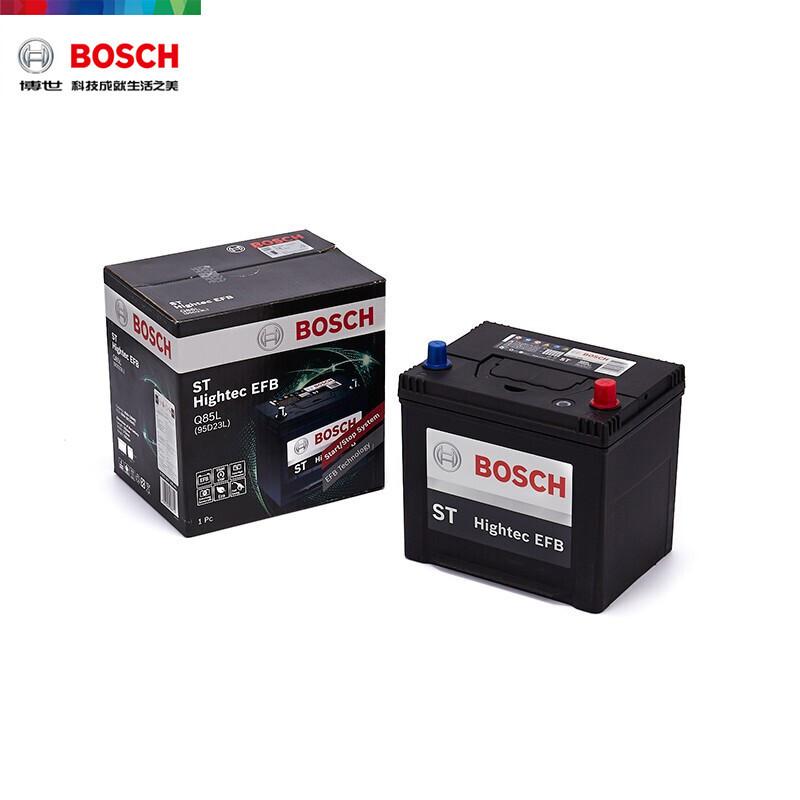 博世(BOSCH) 汽车电瓶蓄电池EFB系列 Q85L 12V  森林人/CX-4/CX-5 汽车电池 以旧换新 上门安装