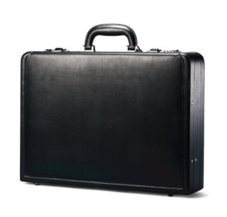 Samsonite 新秀丽 Bonded Leather Attaché 真皮公文包