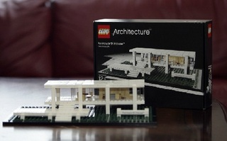 LEGO 乐高 21009 Architecture Farnsworth House 范士沃斯住宅