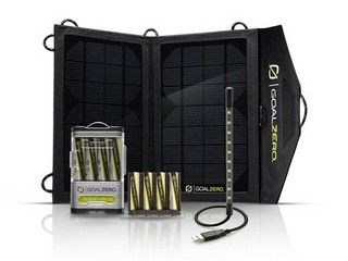 Goal Zero Portable Solar Power 便携太阳能充电套装
