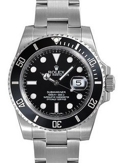 ROLEX 劳力士 Submariner 潜航者型 Black Dial Stainless 116610 男款机械腕表