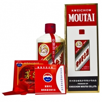 MOUTAI 茅台 飞天 53° 贵州茅台酒 酱香型白酒 500ml