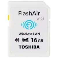 TOSHIBA 东芝 FlashAir WiFi 16GB SDHC 存储卡