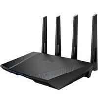 ASUS 华硕 RT-AC87U 2400M WiFi 5 家用路由器 黑色