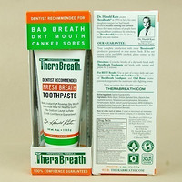 TheraBreath Fresh Breath Dry Mouth 除口气牙膏 113.5g
