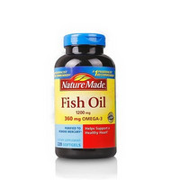 Nature Made Fish Oil Omega-3 深海鱼油 200粒*2瓶