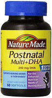 Nature Made Postnatal Multi-Vitamin Plus DHA 孕妇产后复合维生素