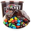 M&m's  牛奶巧克力豆(黑桶碗装)270g