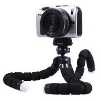 富图宝 RM-100-1K  手机三脚架 手机直播支架 手机三角支架 相机三脚架相机支架迷你三脚架 黑色 *9件