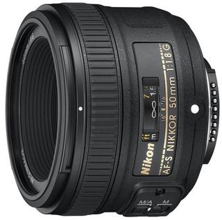 Nikon 尼康 G系列 AF-S 50mm f/1.8G 单反镜头 黑色