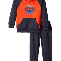 Quiksilver Orange Navy 男童套装