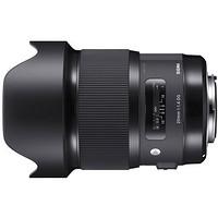 SIGMA 适马 Art 20mm F1.4 DG HSM 标准定焦镜头 佳能EF卡口