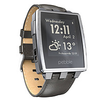 Pebble Steel Smartwatch 智能手表