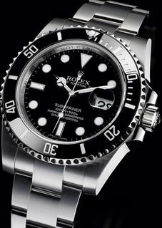 再降价 : ROLEX 劳力士 Submariner 潜航者型 Black Dial Stainless 116610 男款机械腕表