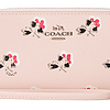 COACH 蔻驰 Box Program Print Flrl Crossgrain 女士钱包