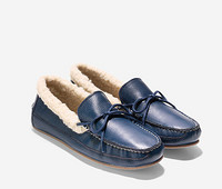 COLE HAAN Griffin 冬季 女士一脚蹬船鞋