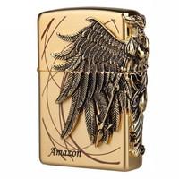 ZIPPO 之宝 盔甲徽章系列 932824 之宝打火机 金色