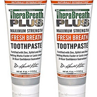 TheraBreath PLUS Professional Formula Fresh Breath 清新口气牙膏