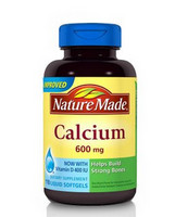 Nature Made Calcium with Vitamin D 液体钙 600mg 110粒