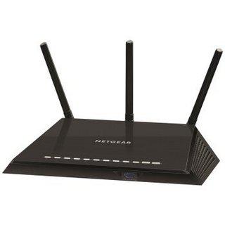 NETGEAR 美国网件 R6400-100T 双频千兆无线路由器 黑色