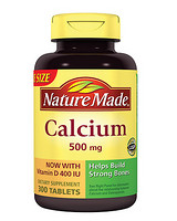 Nature Made Calcium with Vitamin D3 钙片 500mg 300粒