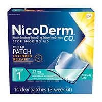 NicoDerm CQ 142020 戒烟辅佐贴片(第一阶段)