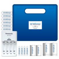 eneloop 爱乐普 KJ51MCC64C 充电电池家庭套装(白色10节 + CC51充电器)