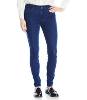 7 For All Mankind The Skinny with Tonal Squiggle 女士修身牛仔裤