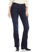 7 for all mankind Kimmie Bootcut Slim Illusion 女士牛仔裤