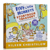 《Five Little Monkeys Storybook Treasury 五只小猴子》(英文原版)