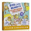 《Five Little Monkeys Storybook Treasury 五只小猴子》(英文原版)