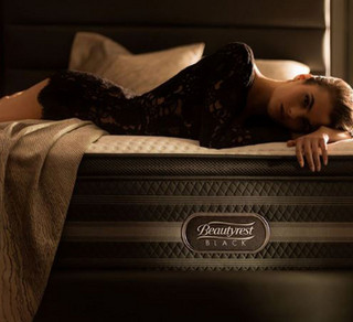 Simmons 席梦思 Beautyrest Black 甜梦黑标系列 Natasha Luxury Firm Pillow Top 床垫 3种尺寸可选