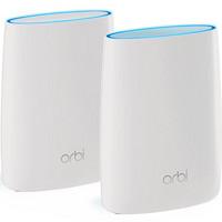 NETGEAR 美国网件 Orbi RBK50 3000M WiFi 5 分布式路由器+RBS50 子母路由
