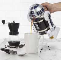 新品预售:ThinkGeek Star Wars R2-D2 法压壶