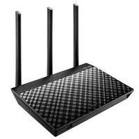 ASUS 华硕 RT-AC66U B1 1750M WiFi 5 家用路由器 黑色