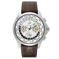 GIRARD PERREGAUX 芝柏 Traveller WW.TC系列 49700-21-132-HBBB 男士自动机械腕表