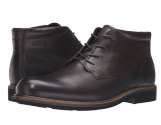 43码起 : ecco 爱步 Findlay Plain-Toe 男士踝靴