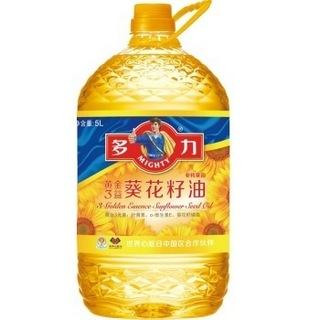 MIGHTY 多力 葵花籽油 5L+400ml 食用油