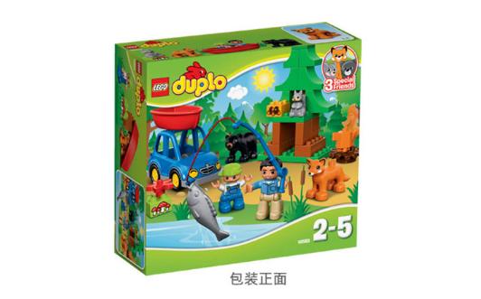 LEGO 樂高 得寶系列 10583 森林垂釣
