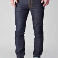 Nudie Jeans THIN FINN DRY TIGHT BROKEN 11OZ 男士牛仔裤