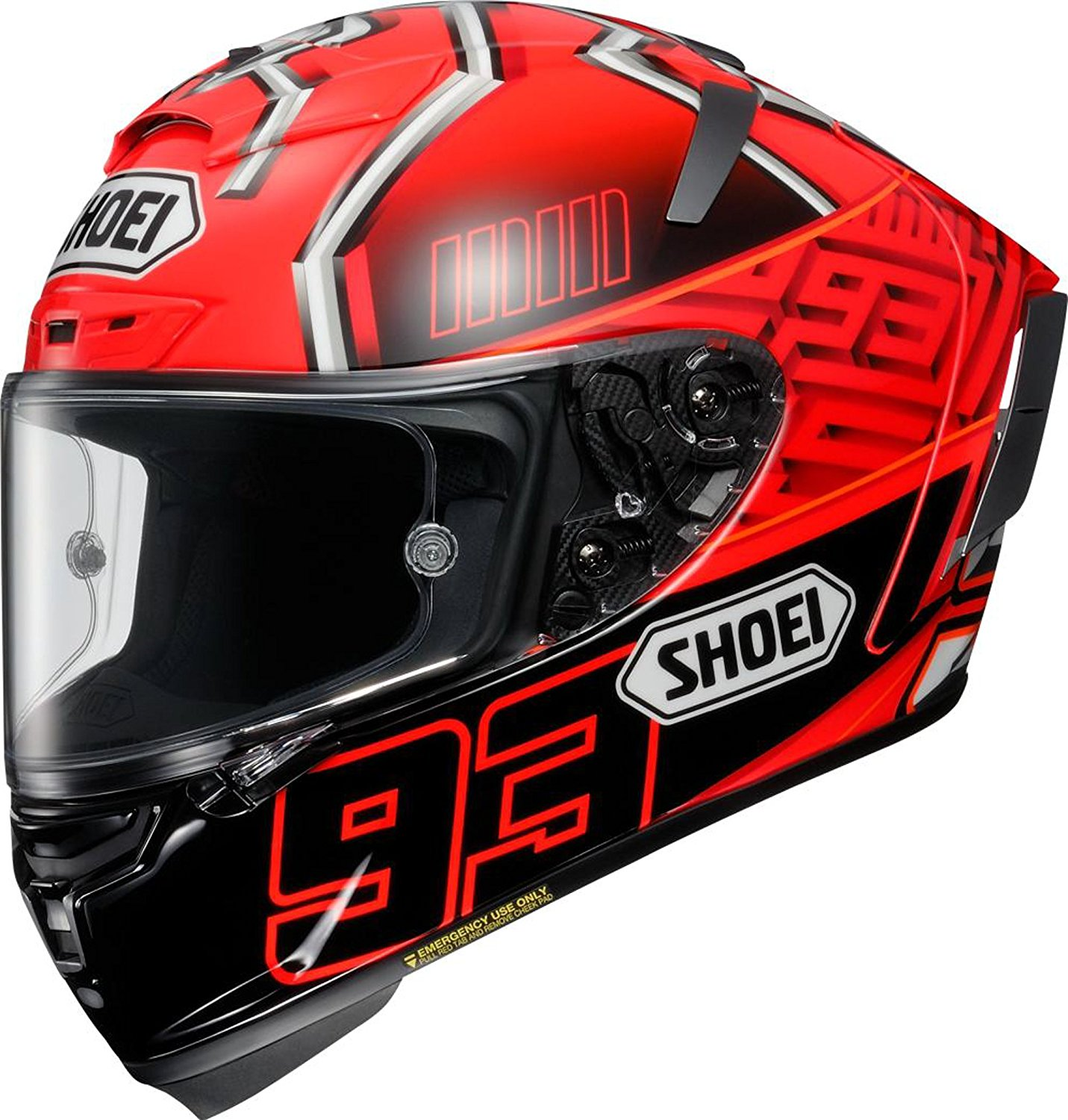 SHOEI X-Fourteen MARQUEZ4  TC-1 全覆式头盔 红蚂蚁 XL