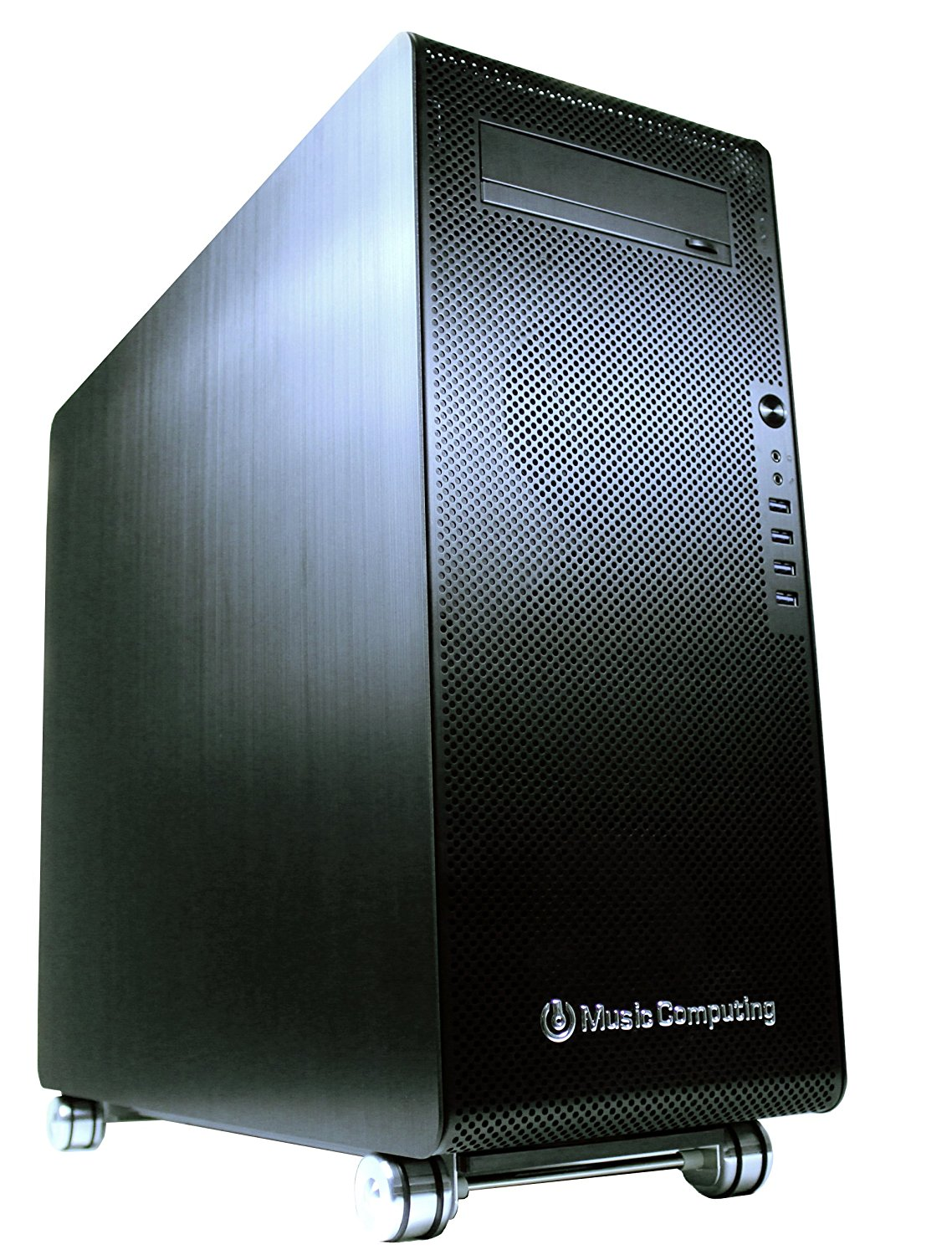 Music Computing CoreMC 2 Elite 台式工作站(E5 2690 V3*2,64G ECC、1T SSD+4T HDD、R9 390)