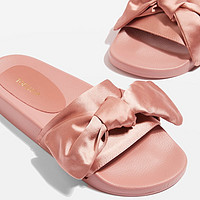 凑单品:TOPSHOP HALO Bow Slides 女士拖鞋